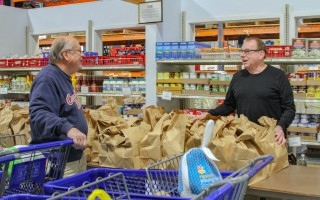 Just before Thanksgiving, the Family Pantry provided groceries for a complete holiday meal to more than 360 families in just two hours. DEBRA DeCOSTA PHOTO  (photo: Debra DeCosta)