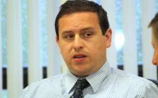 Assistant Town Administrator Evan Melillo has been terminated. CHRONICLE FILE PHOTO  (photo: William F. Galvin)