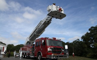 Chatham's quint, a combination ladder and pumper fire engine. Harwich's department is proposing to add a quint to the town's capital plan and forego the replacement of two other vehicles, saving $1 million. FILE PHOTO  (photo: Alan Pollock)