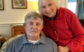 John and Helen Beck will celebrate 70 years of marriage in June. ALAN POLLOCK PHOTO  (photo: Alan Pollock)