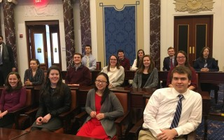 Monomoy High's We The People team.  (photo: )