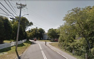 Stage Harbor Road and Cedar Street, two of the seven Stage Neck streets for which a new order of taking will be filed after a 1997 order was invalidated. GOOGLE MAPS PHOTO  (photo: Courtesy Google Maps)
