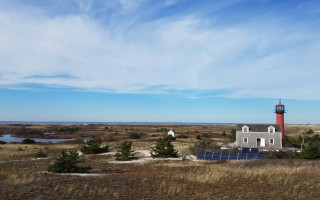 A new solar array will provide full-time power to the historic Monomoy Point Lighthouse for the first time. PHOTO COURTESY OF MATTHEW HILLMAN  (photo: )