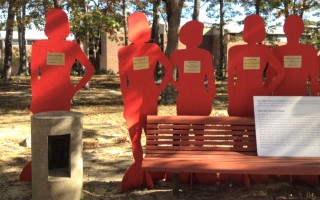 Independence House in Hyannis and locations throughout the Cape is set to install powerful Silent Witness Initiative displays in Orleans, Chatham, and Harwich in April to highlight the prevalence of domestic and sexual violence. Contributed Photo 