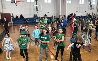 The Harwich Elementary School PTO sponsored a Shamrock Shimmy over the St. Patrick's Day weekend. The turnout was tremendous and the weather cooperated for a beautiful day for all!  (photo: )