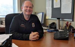 Deputy Harwich Police Chief Thomas Gagnon retires Saturday. ALAN POLLOCK PHOTO  (photo: Alan Pollock)