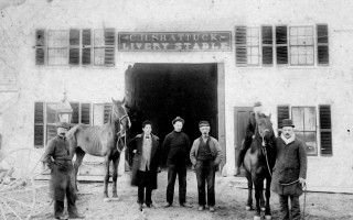 The Shattuck livery stables, Orleans. COURTESY OF ORLEANS HISTORICAL SOCIETY  (photo: )
