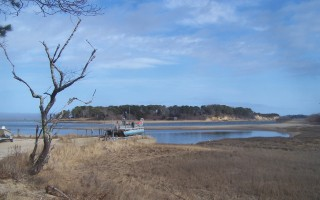 The Nadler family of Orleans has stepped forward as the private buyer-backers helping the Friends of Pleasant Bay purchase Sipson Island through a new trust.  ED MARONEY PHOTO  (photo: Ed Maroney)