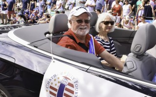 Chronicle publisher Henry C. Hyora was last year's July 4 parade grand marshal. KAT SZMIT PHOTO  (photo: )