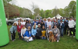 Dozens of people took part in last year's Dave Birtwell Memorial Walk. COURTESY PHOTOS  (photo: )