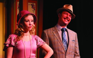 "Rebecca Riley and Beau Jacket in ""She Loves Me"" at the Eventide Theatre Company. BOB TUCKER/FOCALPOINT STUDIO.  (photo: )"