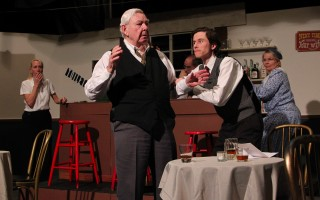 "Garry Mitchell, left, and John Hanright in ""The Birthday Party"" at the Chatham Drama Guild. DELANE MOSER PHOTO  (photo: )"