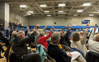 Voters concluded Chatham's annual town meeting Tuesday. ALAN POLLOCK PHOTO  (photo: )