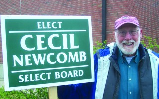 Newly elected Orleans Selectman Cecil Newcomb. ED MARONEY PHOTO  (photo: )
