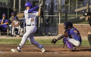 Spencer Torkelson (20) has a hit for the Chatham Anglers in one of his 2018 games with the Chatham Anglers. The 2019 season starts June 10. File Photo  (photo: )