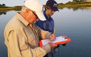 Water watchers check samples taking during routine testing. FILE PHOTO  (photo: )