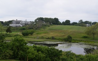 Several instances of unauthorized cutting of trees and brush along the town-owned Seaside Links Golf Course has prompted selectmen to propose a policy instituting severe penalties for encroachment on town property. TIM WOOD PHOTO  (photo: )