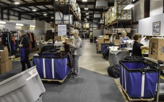 The Family Pantry has plenty of warehouse space at its North Harwich headquarters, where it stores food, sorts donations of clothing and serves clients. FILE PHOTO  (photo: Kat Szmit)