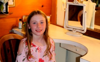 "Harwich resident Florence Carlson was recruited for a role in ""Once"" at the Cape Playhouse. ELIZABETH KINTZ PHOTO  (photo: )"