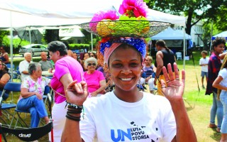 The Cape Verdean Festival to be held Saturday at Brooks Park is always a colorful cultural and entertaining event, as this scene from last year's festival attests. FILE PHOTO  (photo: William F. Galvin)