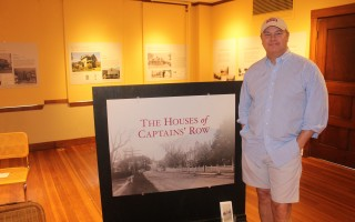 Duncan Berry will make a presentation on the sea captains of Captains' Row sponsored by the Harwich Historical Society on Sunday, July 21 at 2 p.m. at the Brooks Academy Museum. The historical society has an exhibit on the historic homes this summer. Berry said his lecture will focus more on the people, the sea captains, than about the architectural gems in that West Harwich village. WILLIAM F. GALVIN PHOTO  (photo: William F. Galvin)
