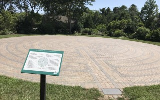 The labyrinth in Chase Park. TIM WOOD PHOTO  (photo: Tim Wood)