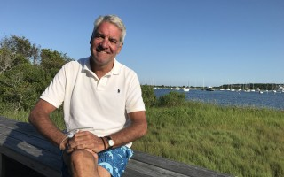 "With Stage Harbor as the backdrop, Andy King talked recently about his role in the failed Fyre Festival and his appearance in the Emmy-nominated Netflix documentary "" Fyre: The Greatest Party That Never Happened."" TIM WOOD PHOTO  (photo: )"