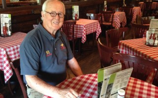 John Murphy Sr., who is celebrating five decades of ownership of the Land Ho in Orleans. DEBRA LAWLESS PHOTO 