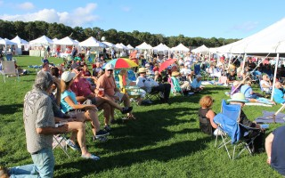 The Harwich Cranberry Festival will draw a crowd over this weekend at the facilities behind the community center on Oak Street.  FILE PHOTO  (photo: William F. Galvin)