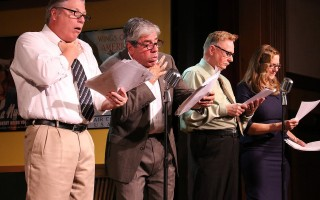 "A scene from ""Radio Ridiculous"" at the Eventide Theatre Company. COURTESY PHOTO  (photo: )"