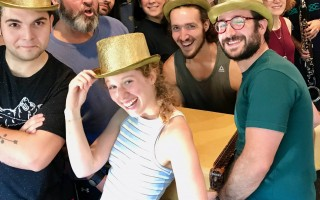 "The Cape Rep cast of ""Indecent"" in rehearsal this week. COURTESY PHOTO  (photo: )"