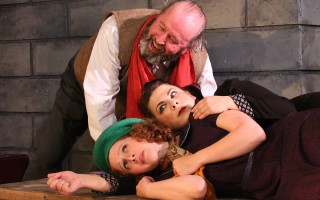 "Art Devine, Trish LaRose and Lily Steven in ""Indecent"" at Cape Rep. BOB TUCKER/FOCALPOINT STUDIO PHOTOS  (photo: Bob Tucker / Focalpoint Studio)"