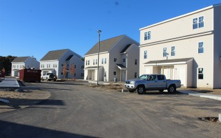 A 65-unit affordable housing development is now under construction by Pennrose for the town of Eastham off Brackett Road in North Eastham.  WILLIAM F. GALVIN PHOTO  (photo: William F. Galvin)