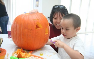 Pumpkin Carving, Chatham. 2009 . FILE PHOTO COURTESY 