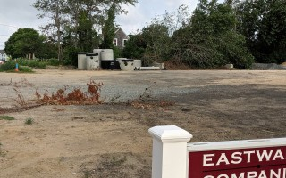 Selectmen chose this lot in West Chatham as the site for a new senior center. FILE PHOTO  (photo: )