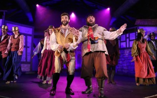 "Lukas Poost, Jared Hagan and company in Cape Rep's ""Something Rotten."" BOB TUCKER/FOCALPOINT STUDIO PHOTO  (photo: )"