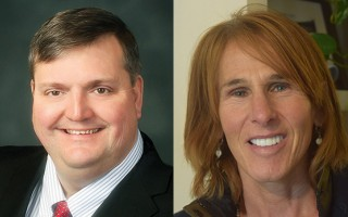 County commissioner Ronald Beaty, left, and Chatham Barnstable County Assembly Delegate Randi Potash, right. FILE PHOTOS  (photo: )