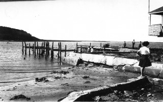 Hurricane of 1938, Stage Harbor, Chatham. Photo courtesy of David Olson  (photo: )