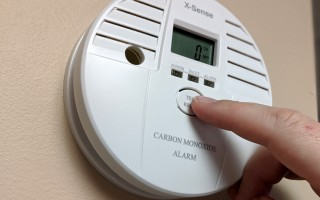 Carbon monoxide detectors should be tested regularly, and replaced entirely by the date stamped on the back. ALAN POLLOCK PHOTO  (photo: Alan Pollock)