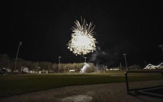 First Night fireworks at Veterans Field. An Independence Day fireworks display will return to the field this summer after a 45-year absence. FILE PHOTO  (photo: Kat Szmit)