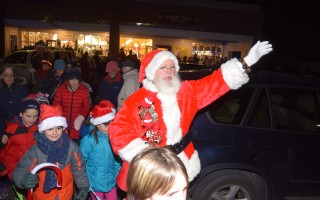 Santa leads the light parade during last year's Christmas By The Sea. FILE PHOTO  (photo: Tim Wood)