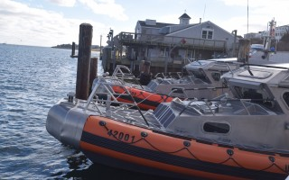 "Coast Guard rescue boats at the Chatham Fish Pier. Removal of the ""C"" buoy outside of Chatham Harbor won't impact the station's operations, according to officials, but selectmen are using all the resources at their disposal to try convince the Coast Guard to retain the buoy. FILE PHOTO  (photo: )"