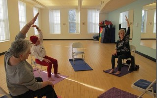 A past chair yoga class at the Chatham Community Center. FILE PHOTO  (photo: )