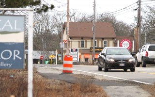Cars pass through the West Chatham construction zone. FILE PHOTO  (photo: )