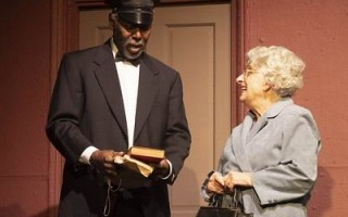 Ron Williams as Hoke and Karen McPherson, both Chatham residents currently in DRIVING MISS DAISY at the Barnstable Comedy Club.  Josh Simons photo     (photo: )