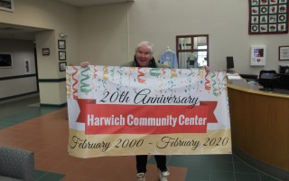 Community Center Director Carolyn Carey is promoting a 20-year celebration for the community center during the month of February. WILLIAM F. GALVIN PHOTO  (photo: William F. Galvin)