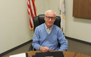 Board of Selectmen Chairman Larry Ballantine has taken out nomination papers for a fourth term on the board of selectmen. WILLIAM F. GALVIN PHOTO   (photo: William F. Galvin)
