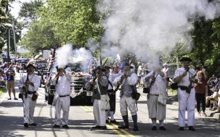 A scene from last year's Independence Day parade in Chatham.  FILE PHOTO  (photo: Kat Szmit)