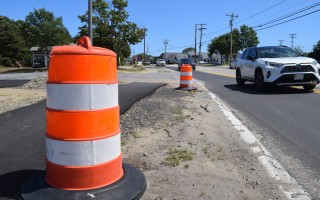 Work on the West Chatham Roadway Project between Barn Hill and George Ryder roads may not start up again until the fall. FILE PHOTO   (photo: )