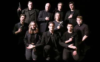 The assassins are (back row, from left) Fred Carpenter, Randy Doyle, Brett Baird, Terrence Moos (middle row, from left) Beau Jackett, Holly Hansen, Michael Cameron, (front row, from left) Sam Hurwitz, Ari Lew and Oliver Kuehne.  COURTESY PHOTO  (photo: )